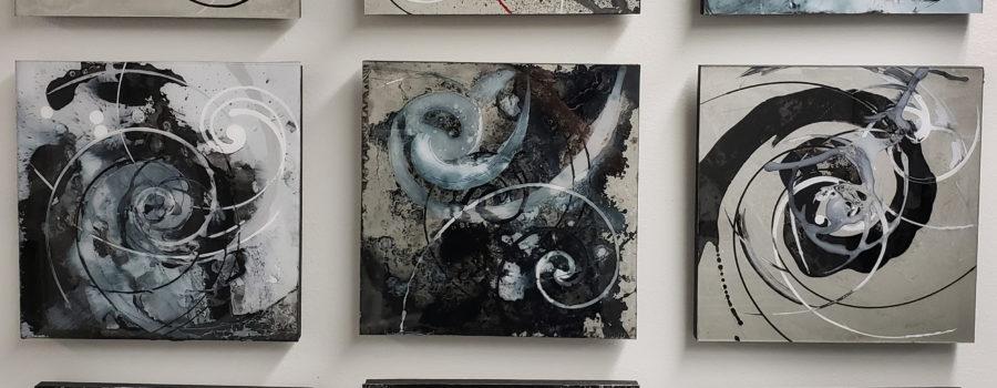 Henryk Ptasiewicz – Abstract (Set of 10)