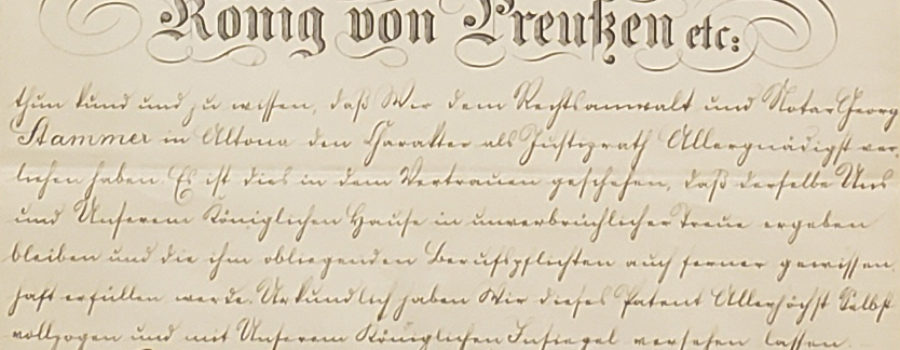 Kaiser Wilhelm – Autograph