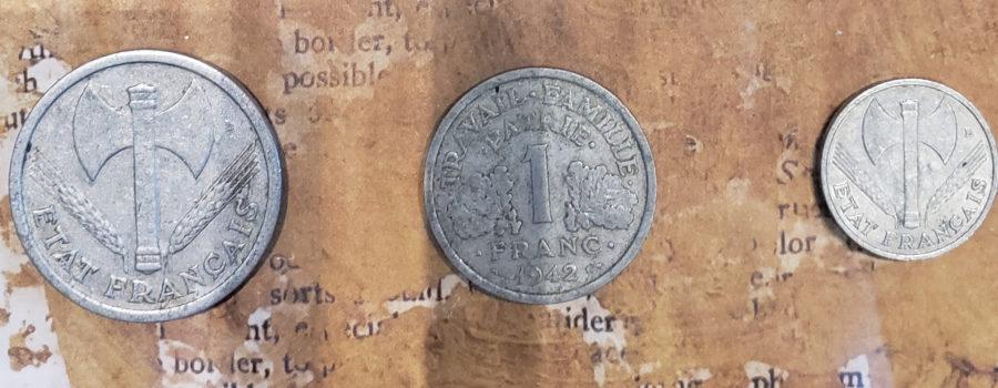 Vichy France Coins