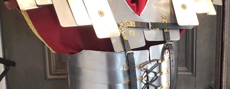 Roman Armor – Actual Size Lorica Segmentata