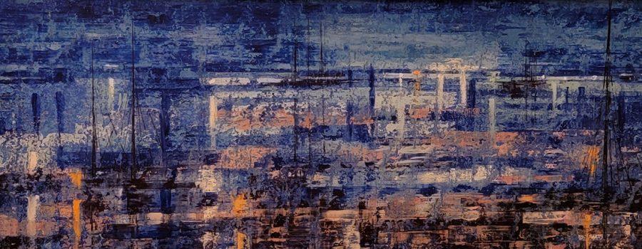 Unknown – Blue Modern Long