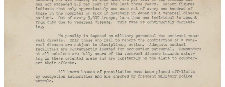 Douglas MacArthur – Signed Typed Letter