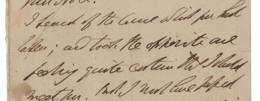 Duke of Wellington – Signed Letter
